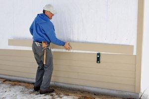 Apply Liquid (Spray-On) Siding