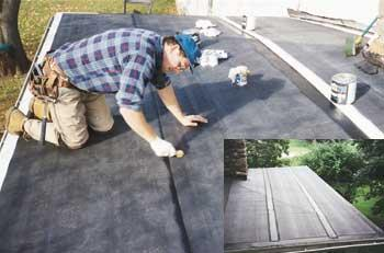Reroofing With Epdm Low Slope Roofs