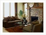 Brick or Stone Fireplace